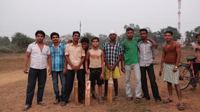 159 Вся команда по крикету